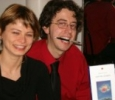 con lo scrittore giovanni di iacovo 2008