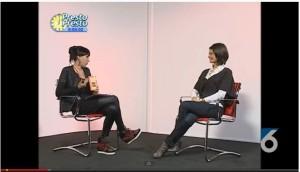 Ospite di Manuela Collevecchio a Presto Presto il 9 novembre 2012 - TV6